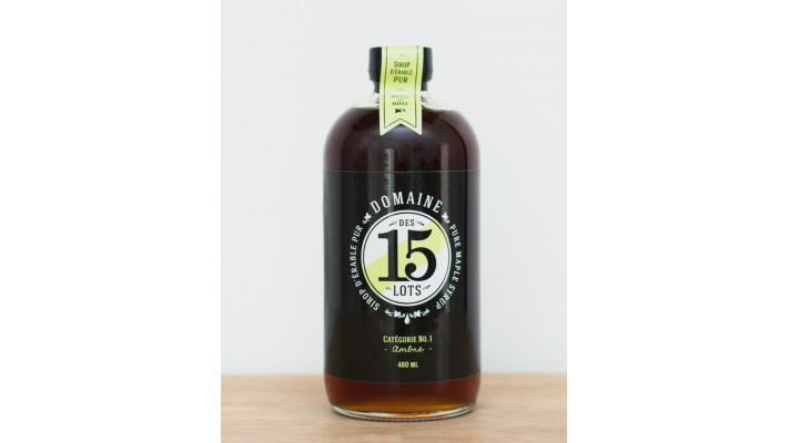Dark Maple Syrup 480 ml
