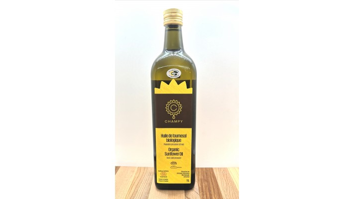 Champy Organic Sunflower Oil 1 liter