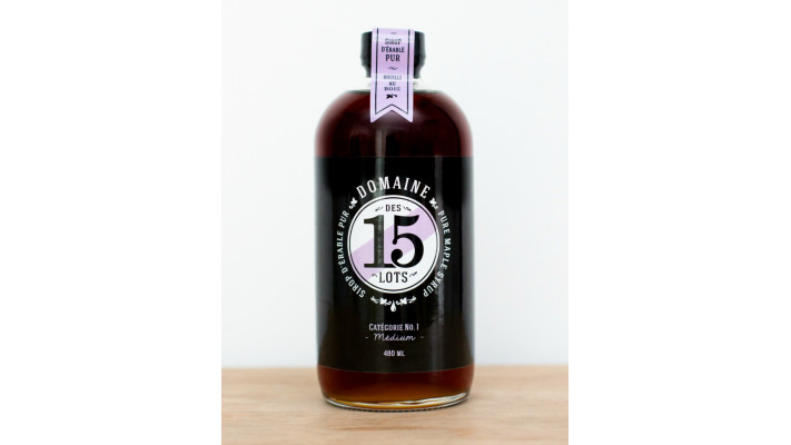 Amber Maple Syrup 480ml