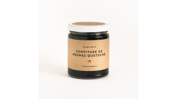 Confiture de prunes Quetsche 270ml