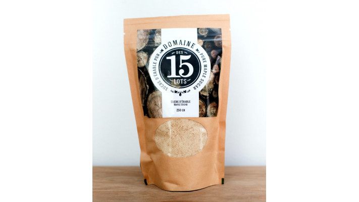 Maple Sugar Bag 250 gr